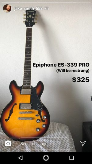 Epiphone electric guitar for Sale in Lynchburg, VA