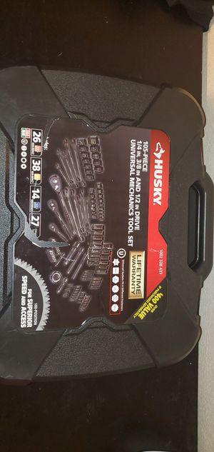 Husky Universal Mechanics Tool Set for Sale in Midway City, CA