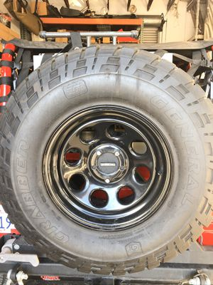 Jeep wheels and tires for Sale in Vista, CA