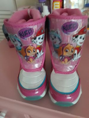 Paw patrol toddler snow boots for Sale in Gaithersburg, MD