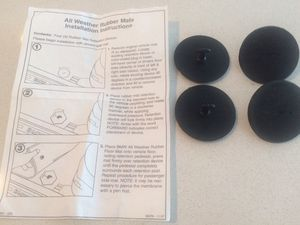 **4 GENUINE OEM BMW RUBBER MAT RETENTION DEVICES FOR SALE! for Sale in Chicago, IL