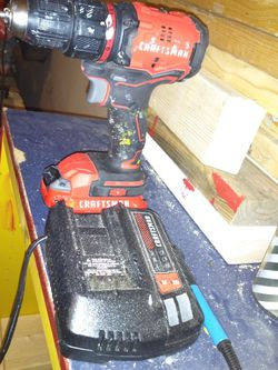 Craftsman Drill And Charger for Sale in Edinburg,  TX