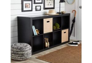 8 cube organizer black for Sale in Fort Worth, TX