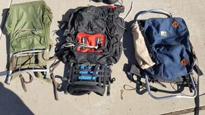 3 backpacking packs. for Sale in Tucson, AZ
