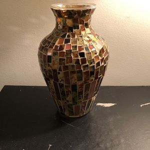 Stained Glass Flower Vase for Sale in Greensburg, PA