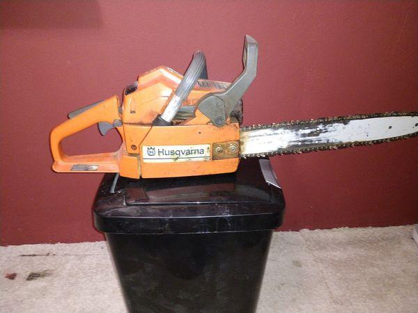 Husqvarna 36 chainsaw