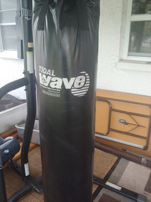 Tidal Wave punching bag for Sale in Pinellas Park, FL
