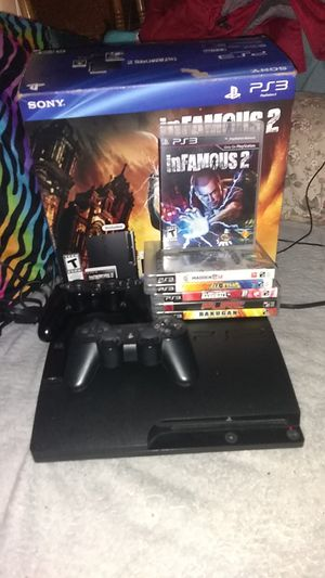 PS3 320gb console and games for Sale in Lakewood, WA