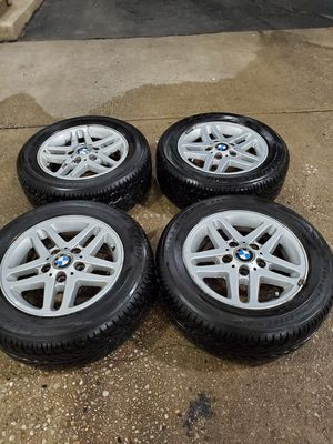 4 15 in 5x120 wheels rims and tires for Sale in Germantown, MD