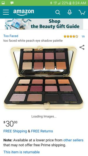 Too faced Just peachy for Sale in Temecula, CA