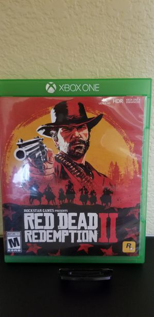RED DEAD REDEMPTION II - XBOX ONE, PRICE FIRM, TRADE for Gears Of War 5 only ! for Sale in Garden Grove, CA