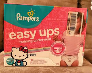 Pampers easy ups (2T-3T) for Sale in Austin, TX