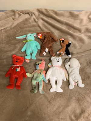 TY beanie babies for Sale in Carlsbad, CA