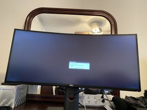 Dell 34 inch curved monitor U3417W for Sale in Long Beach, CA