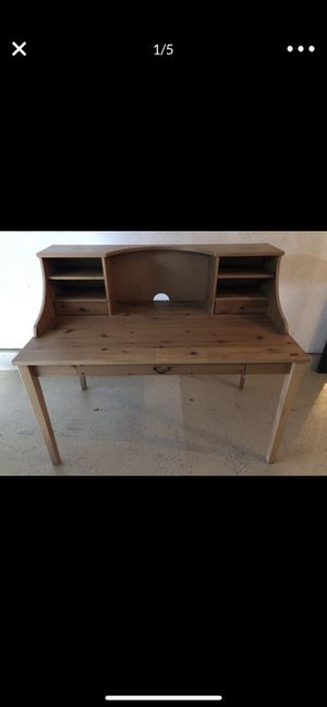 Nice real wood desk for Sale in Chula Vista, CA