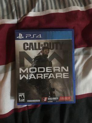 Call of duty modern warfare PlayStation 4 for Sale in Winter Haven, FL