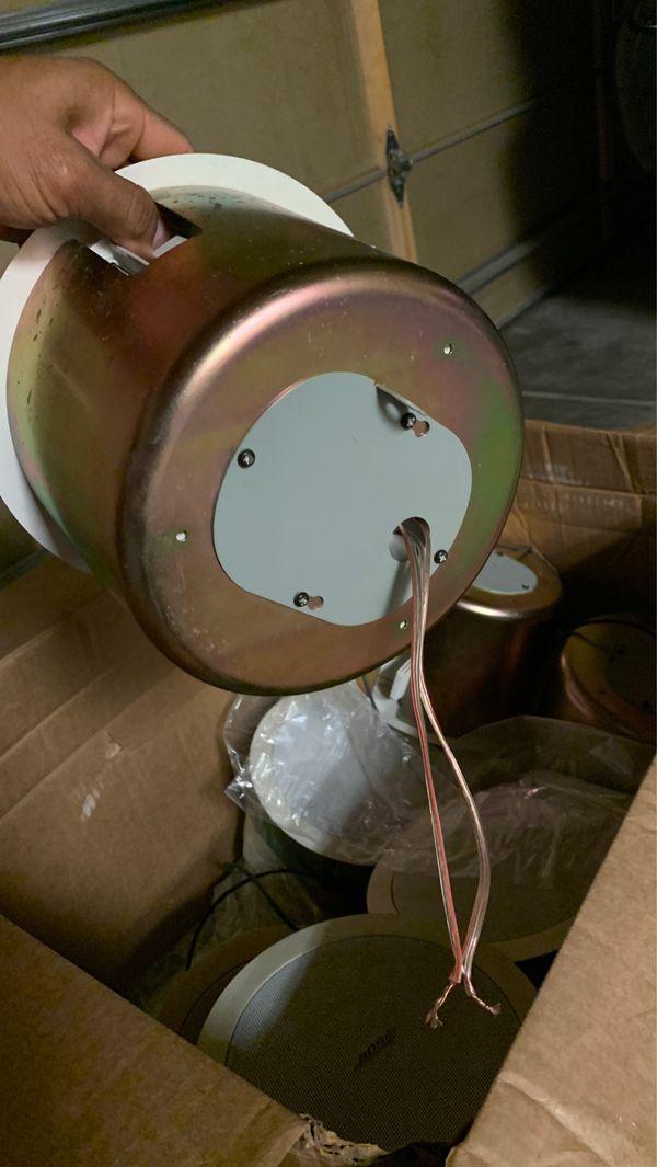8 Bose ceiling speakers