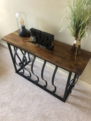 4 piece handmade custom farmhouse living room set for Sale in Senoia, GA