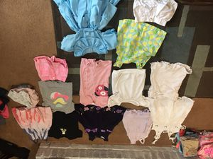 Kids clothes size 2T dresses, shirts, shorts and lots of underwear for Sale in Westerville, OH