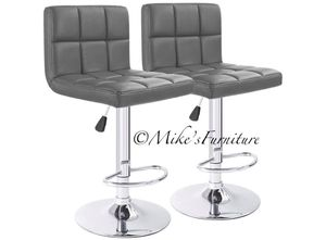 Brand new 2 gray bar stools (shipping is available) for Sale in Orlando, FL