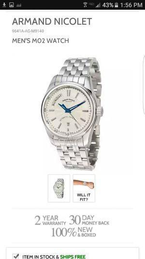 ARMAMD NICOLET LIMITED EDITION BRAND NEW with ID# and warranty for Sale in New York, NY