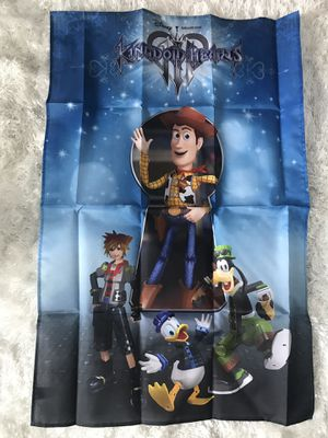 Kingdom hearts poster for Sale in Atascocita, TX