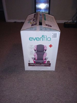 Evenflo car seat big kid sport Age:4 years + for Sale in Columbus, OH