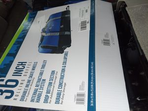 36in rollaway duffle bag for Sale in San Diego, CA