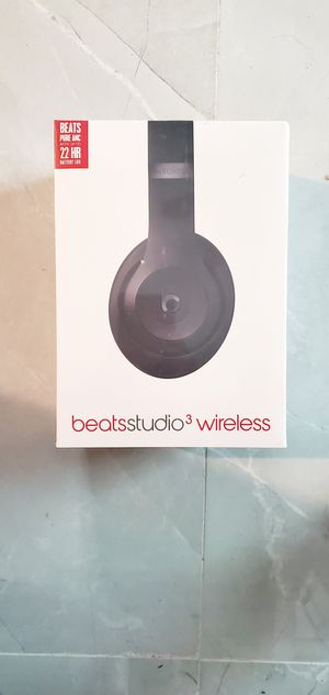 new beats studio 3 bluetooth wireless with w1 chip color matte for Sale in Miami, FL
