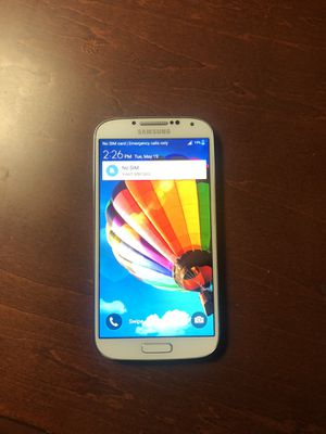 Samsung galaxy s4 for Sale in Rancho Santa Margarita, CA