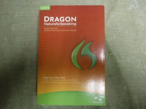 Dragon NaturallySpeaking home edition speech recognition software turn talk into type for Sale in Santa Ana, CA