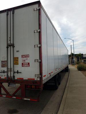 Dry van 53' air ride wabash trailer $7500 for Sale in Lodi, CA