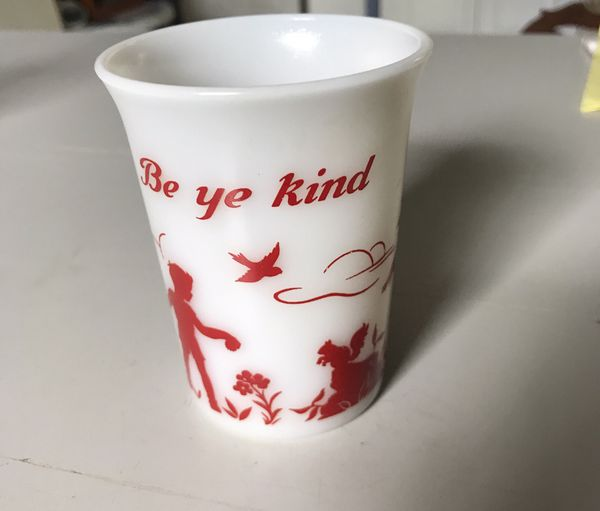 Anchor Hocking Milk Glass cup