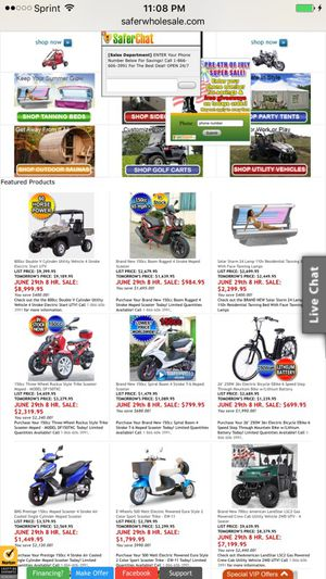 Dirt bikes, scooters,motor bikes,motor cycles biggest dealer in area check out www.saferwholesale.com/?Click=83419i for Sale in Baltimore, MD