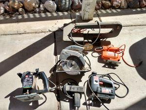Old power tool lot. for Sale in Sun City, AZ