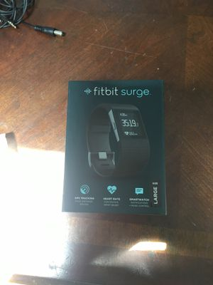 Fitbit surge size large brand new in box for Sale in Tampa, FL