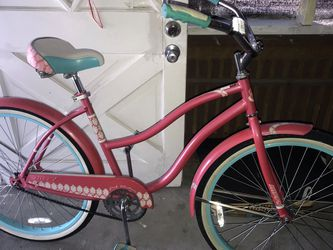 "😎👍🇲🇽PRECIO FIRME 🇲🇽$120 dlls Bicicleta HUFFY TIRE 26"" X 2.125 🎈color Rosa 🔥HUFFY 26"" Color Rosa 18 Velocidades for Sale in Houston,  TX"