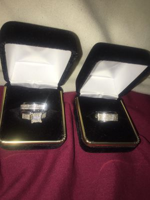 His and Hers Wedding Rings. for Sale in Willow Spring, NC