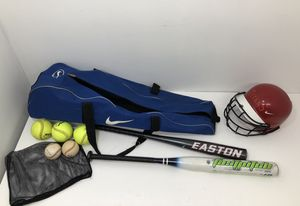 Baseball Softball bats balls helmet & Nike carrying bag for Sale in Powder Springs, GA