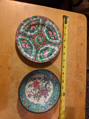 Vintage Asian Plates for Sale in Riverview, FL
