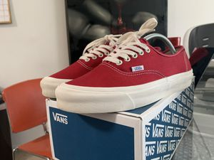 Vans vault chili pepper sz 9 supreme syndicate for Sale in San Diego, CA