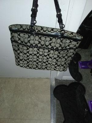 Fabric coach purse for Sale in Alexandria, VA