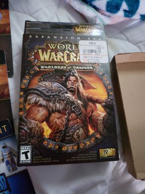 World of warcraft Draenor for Sale in Augusta, KS