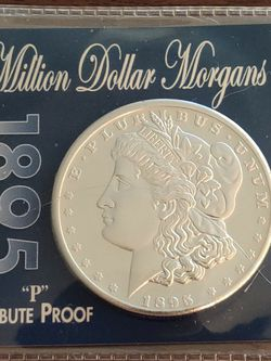 1895 Morgan Silver Dollar Tribute Proof for Sale in Tigard,  OR