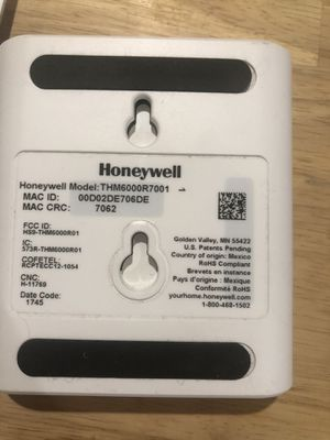 Honeywell thermostat for Sale in Commerce, CA