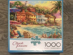 "NEW Buffalo Games Chuck Pinson ""Island Time"" 1000 Piece Jigsaw Puzzle for Sale in Tacoma, WA"