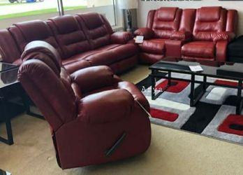 🔥Best Price Brand🆕️ Vacherie Salsa Reclining Living Room Set for Sale in Arlington,  VA
