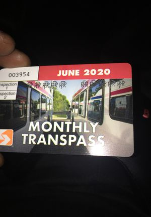 Monthly June transpass for Sale in Philadelphia, PA