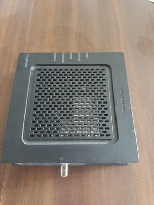 Linksys router plus Motorola cable modem, package deal for Sale in Seattle, WA
