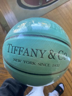 Teal Tiffany Blue Design Spalding Basketball for Sale in San Francisco, CA